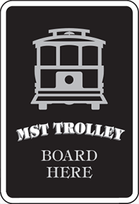 trolley-sign