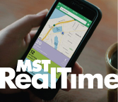 Image of MST RealTime App with link to MST website