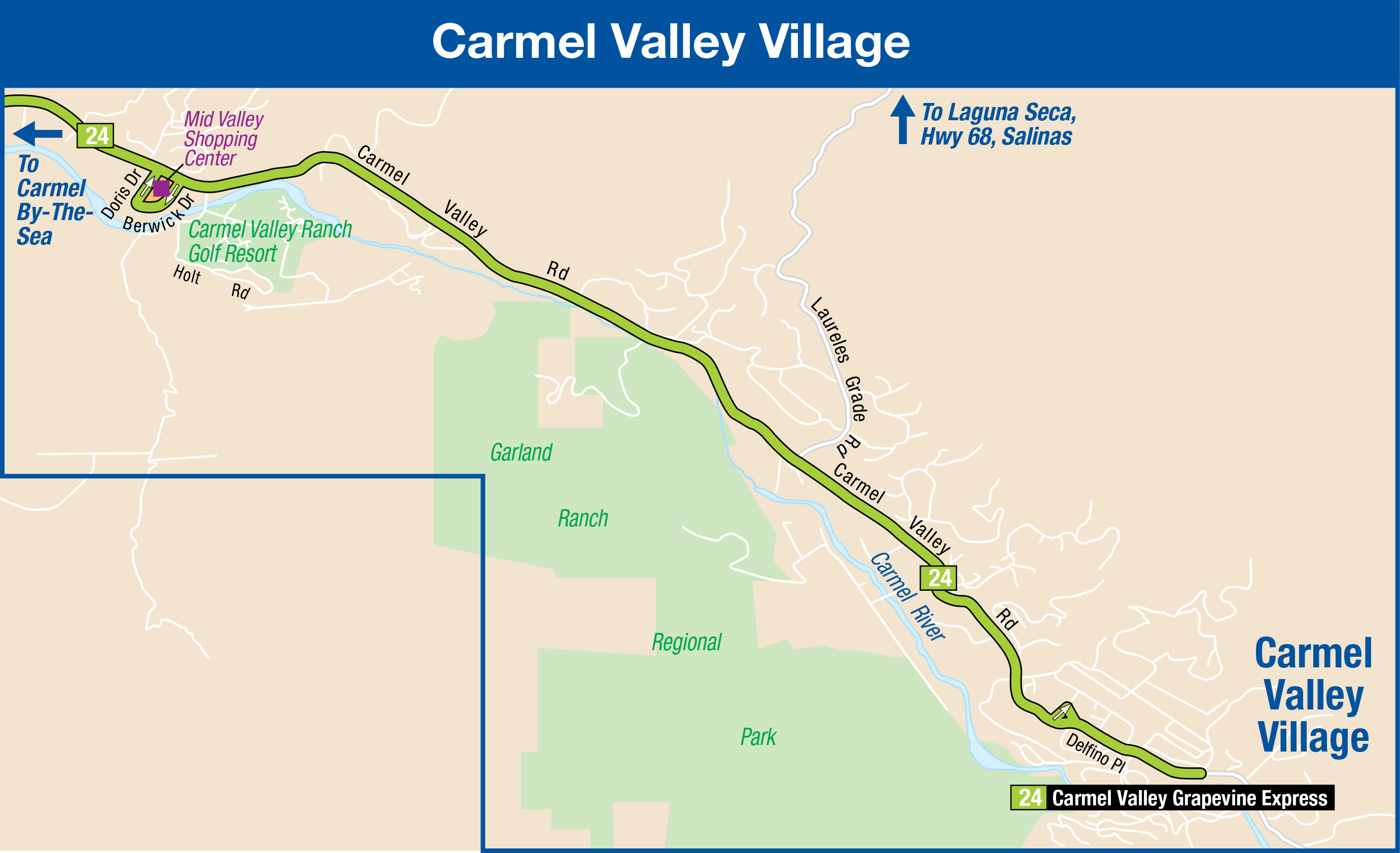 Carmel Valley Village MontereySalinas Transit