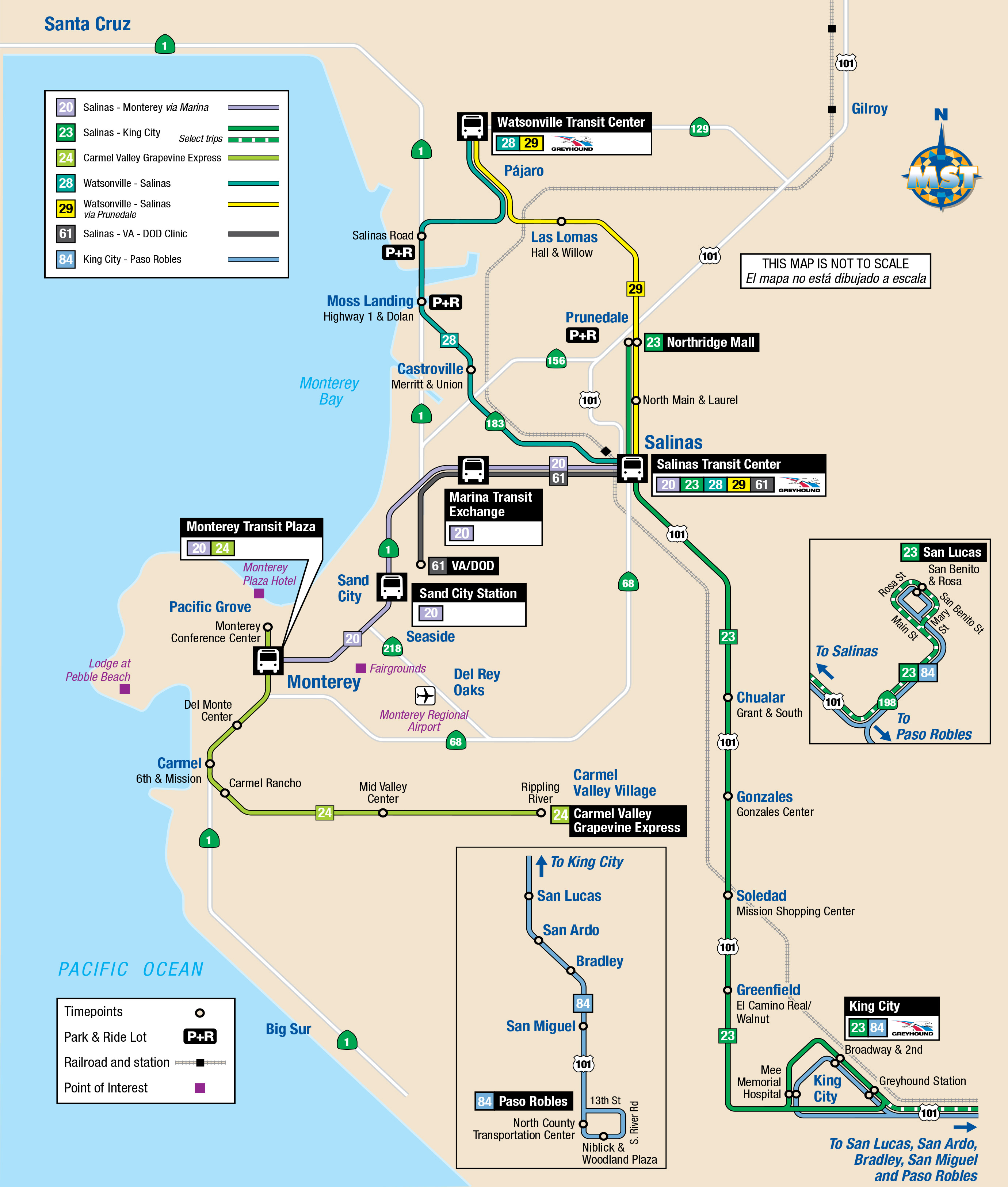 System Maps | Monterey-Salinas Transit on chualar map, glenwood park map, newport us map, whitestone map, florence oregon map, la frontera map, white city map, sunset vistas map, oakridge map, tillamook area map, tillamook cheese factory map, sea pines hilton head island map, canyonville map, gearhart map, gorda map, gold hill map, fishing village map, falcon cove map, irrigon map, youngs bay map,